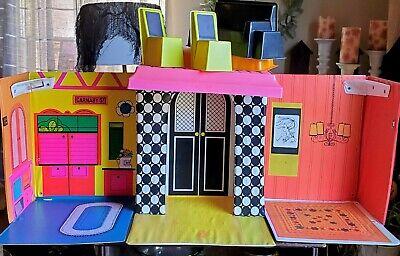 Vintage 1968 Barbie Doll Family House Furniture Mattel Complete Retro Dollhouse