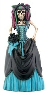 Day of The Dead Gothic Bride Figurine 8