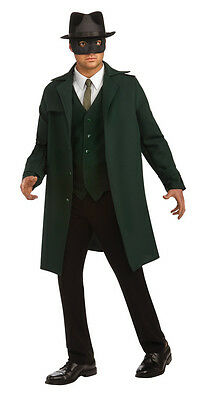 Green Hornet Movie Superhero Seth Rogen Dress Up Halloween Deluxe Adult Costume