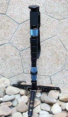 Sirui P-326S Carbon Fiber Monopod w/ Three Stand Feet & Carry Case USA Shipping