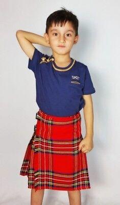Royal Utility Kilt Stewart Baby by Scottish Kilt | Made To - Baby Kilt
