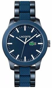 Lacoste Mens Lac Navy Blue Steel 2010922 Watch