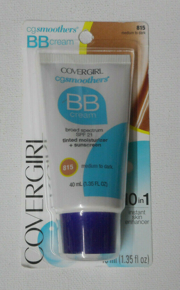CoverGirl Smoothers SPF 21 Tinted Coverage, Light to Medium