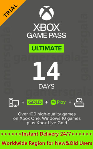 Xbox Live Gold 14 Day + Game Pass 14 Days - Xbox Game Pass Ultimate 14 Days Code