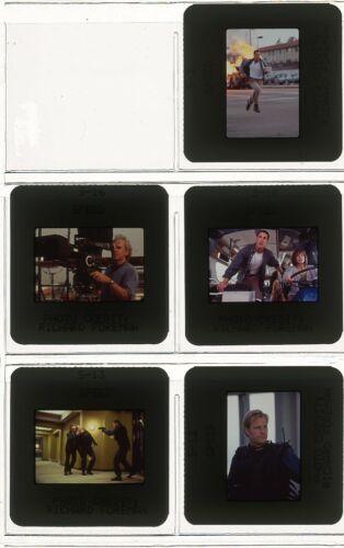 KEANU REEVES SPEED Original Vintage 1994 Set of 5 Color Slides Transparencies