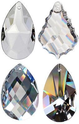 4 Regenbogenkristalle Kristallglas Suncatcher Feng Shui Deko Tropfen Aufhänger