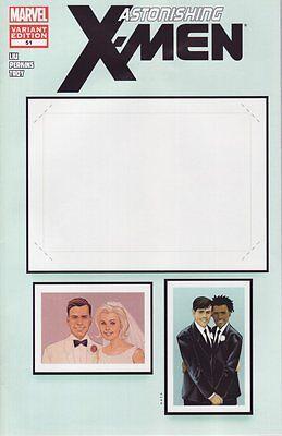 Marvel Comic Create Your Own Superhero (Astonishing X-Men #51 Create Your Own Wedding Variant Comic Book - Marvel)