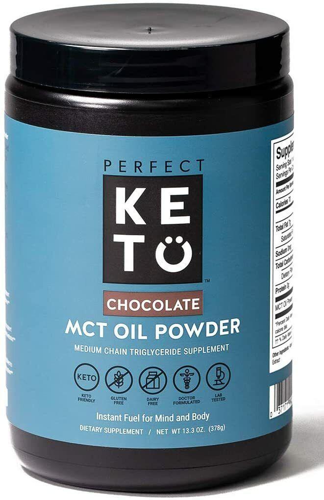mct oil c8 powder chocolate 13 3