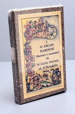 FAIRY TALE  TAROT - MENEGHELLO ARCANI FIABESCHI - LTD ED CARD DECK - NIB
