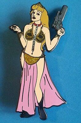 Fantasy Pin - Princess Aurora- Slave Girl Leai Costume -Star Wars- Disney (Slave Girl Costume)