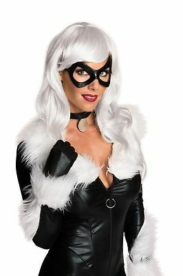 Black Cat Felicia Hardy Adult Blond Wig Marvel Comics Brand New Rubies 32986