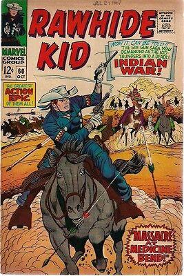 RAWHIDE KID #60 (1967) Marvel Comics VG+