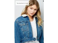 Brand new with tags denim jacket from new look