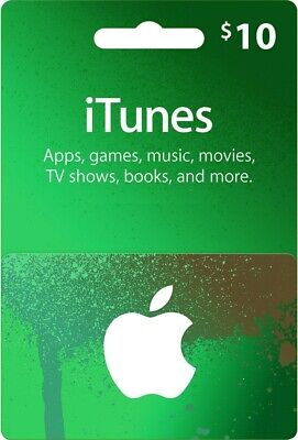 Used, Apple iTunes Gift Card $10 USD USA | Instant Delivery for sale  Shipping to Nigeria