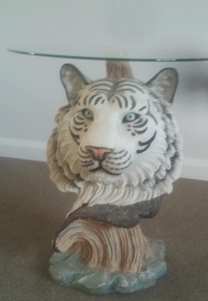 White Tiger Coffee Table