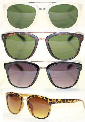 50er 60er Jahre Sonnenbrille Retro schwarz matt leo braun  Damen u. Herren 526
