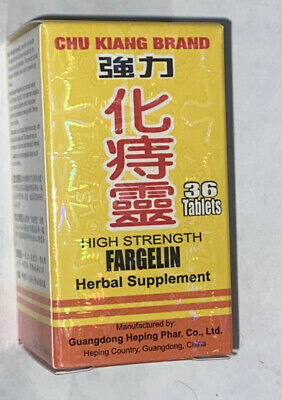Solstice Medicine High Strength Fargelin Herbal Support Supplement - 72 Tablets
