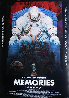 po-)   Katsuhiro Ohtomo[ MEMORIES ]:JP ANIME BIG  POSTER: Satoshi Kon :ORIGINAL