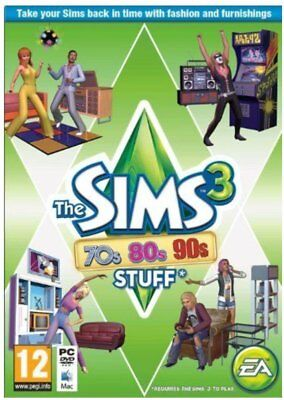 Computer Game The Sims 3 70s 80s and 90s Stuff Expansion Pack Game Hobby