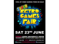 SUPER Retro Games Fair - 1000s of video games & consoles for sale
