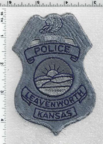 Leavenworth Police (Kansas) 1st Issue Shoulder Patch