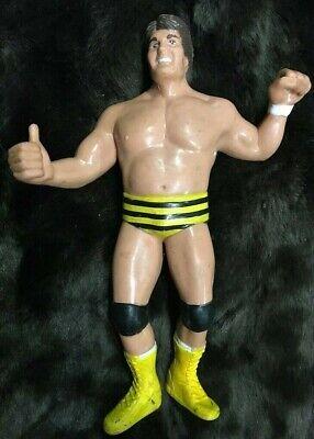 """Vintage 1987 Jumpin' Jim Brunzell Killer Bee WWF Titan LJN 8"""" Wrestling Figure"""