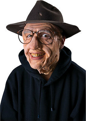 LATEX OLD MAN FX GRAMPS GRANDPA MASK PRE-PAINTED APPLIANCE PROSTHETIC MAKEUP](Prosthetic Fx Makeup Halloween Masks)