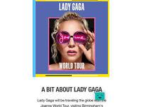 Lady Gaga Tickets - Birmingham (Standing)