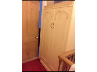 French style solid wardrobe FREE MUST GO TODAY