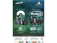 CAST AND DODGY LIVE