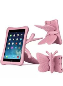 Pink Butterfly IPad Mini Case - Shockproof NEW And In Original Packaging