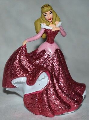 Disney Store PRINCESS AURORA SLEEPING BEAUTY FIGURINE Cake TOPPER PINK NEW