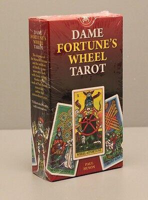 DAME FORTUNE'S WHEEL TAROT CARD DECK - PAUL HUSON - NIB