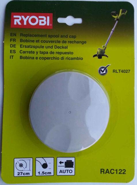 Ryobi,RAC 122,Double line coil+Cover for RLT 5030S,RLT4027 ,RLT 5027,RLT 6030