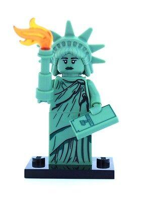 New Lego Minifigures Series 6 8827   Lady Liberty  Statue Of Liberty