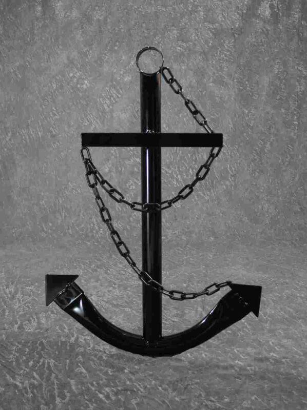 Black Anchor Wall Decor 3