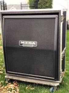 Mesa Boogie 4 x 12 Guitar Cabinet with Road Case.