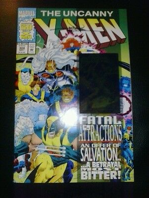 Uncanny x-men 304 hologram cover signed by jae lee COA movie fatal attractions
