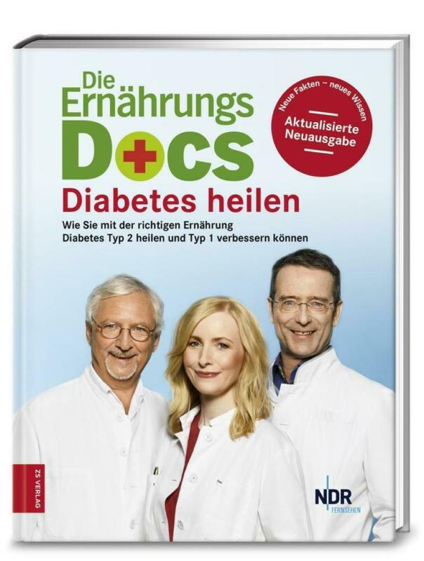 Die Ernährungs-Docs - Diabetes heilen   Matthias Riedl, Anne Fleck, Jörn Klasen