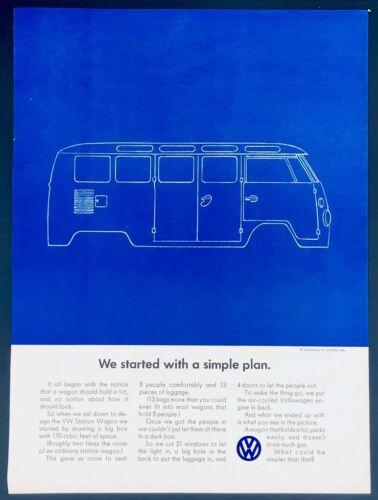 Original Volkswagen  bl Bus double Ad