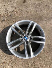 "BMW 1 series M Sport wheels 18"" A CLASS CONDITION"