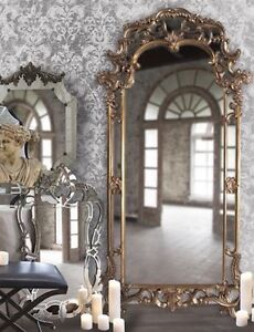 Ornate Scroll Victorian French Antique Style FLOOR Dressing Mirror New Horchow