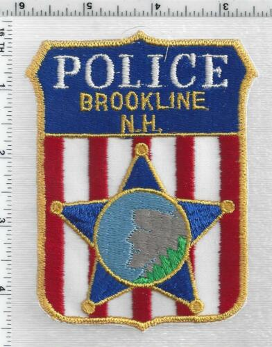 Brookline Police (New Hampshire) 2nd Issue Shoulder Patch