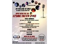 Male and female singers wanted