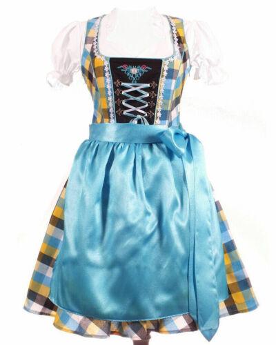 NEW.Girls,Kids,US 10, Germany,German,Trachten,Oktoberfest,Dirndl Dress,3-pc.MIX