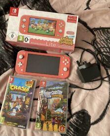 Pink Nintendo switch lite