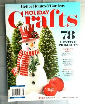 Better Homes & Gardens Holiday Crafts 2019 Magazine ~Spec Issue ~NEW ~SHIPS -