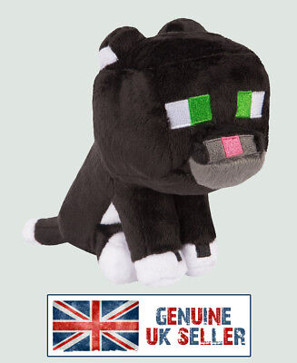 Minecraft TUXEDO CAT Soft Toy plush *BRAND NEW* UK SELLER