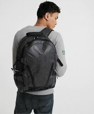 Superdry Tarp Backpack in Black