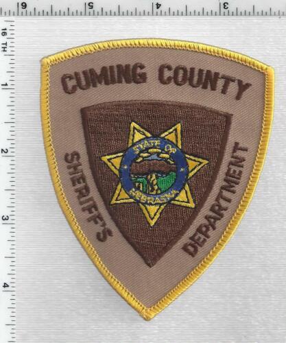Cuming County Sheriff (Nebraska) 1st Issue Shoulder Patch